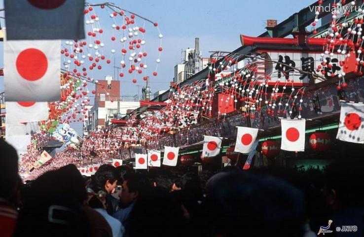 Когда в японии празднуют новый год