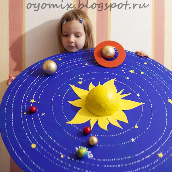 Планеты солнечной системы макеты своими руками 399