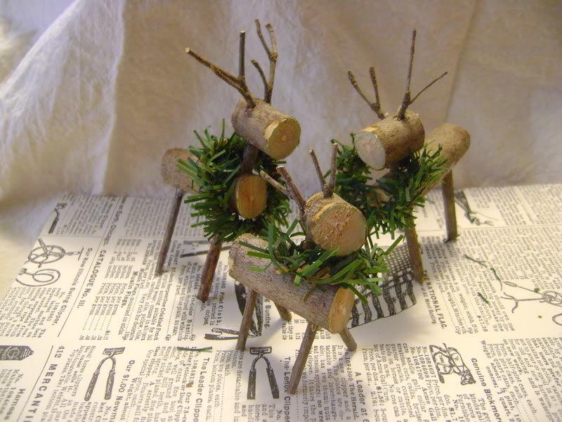 Поделки из дерева и веточек