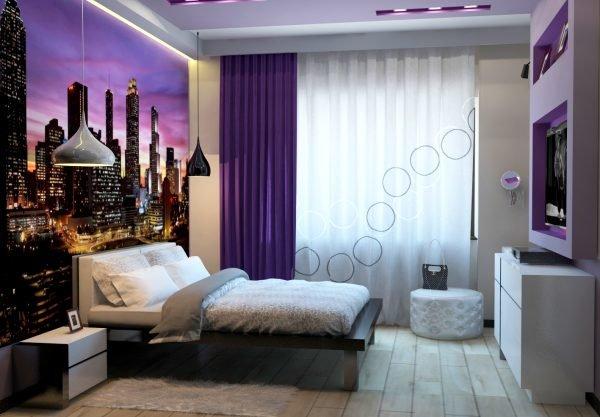 Спальня дизайн современный