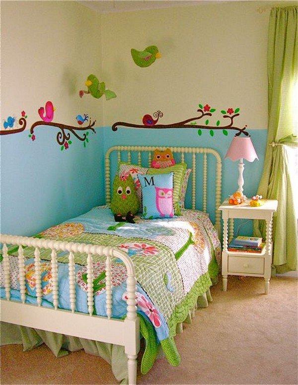 Оформить детскую комнату для девочек своими руками 1
