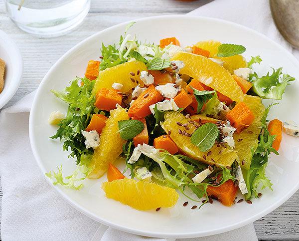Легкий и быстрый салат