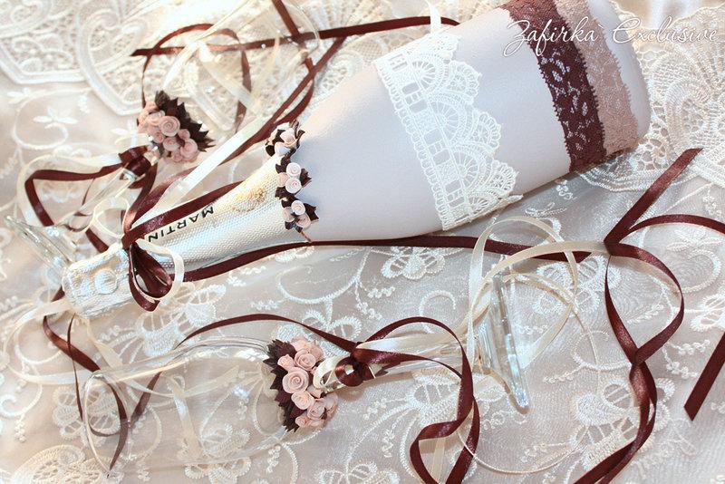 Свадебные украшения своими руками - карточка от пользователя stolginichenko в Яндекс.Коллекциях