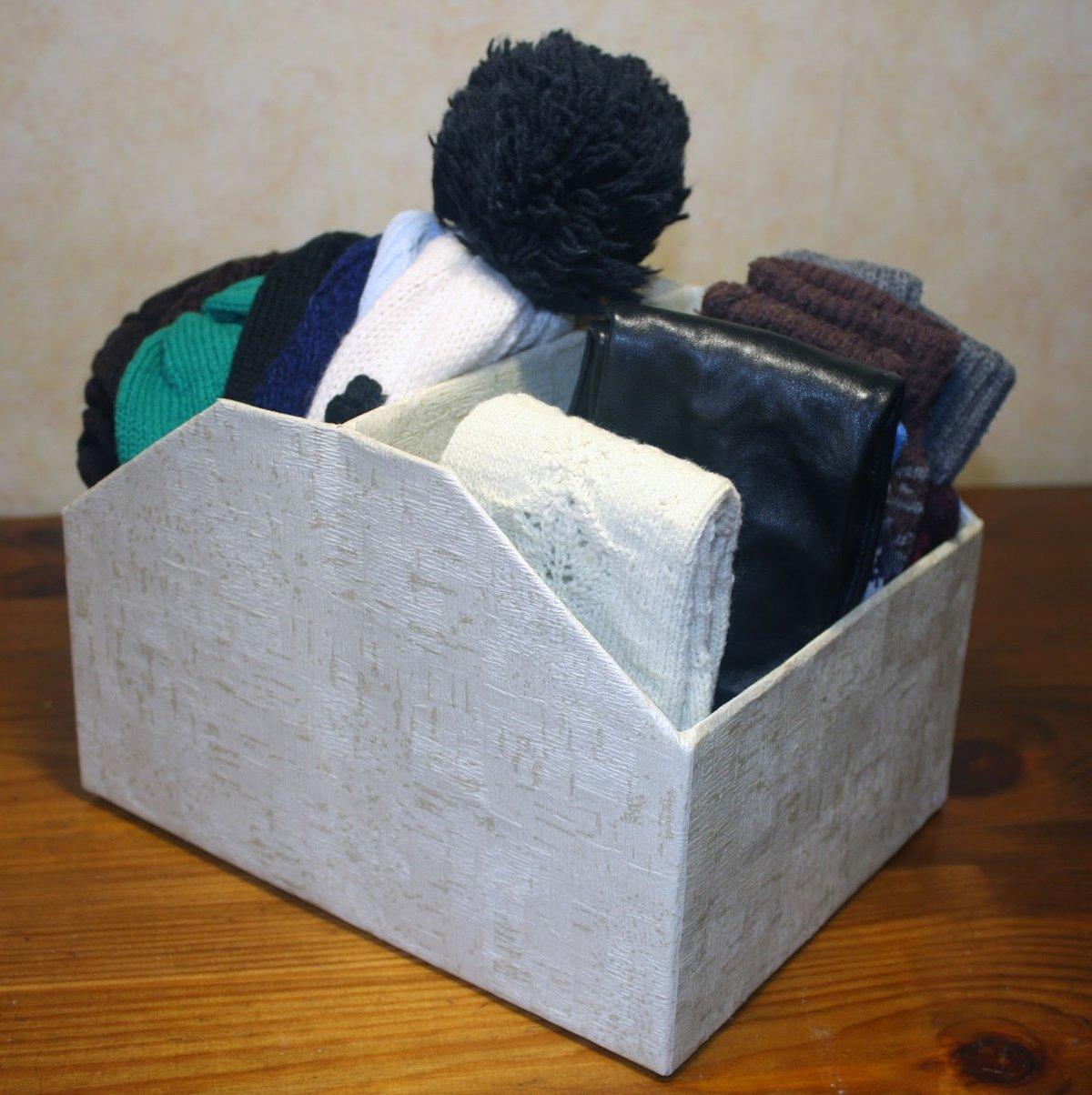 Что сделать из коробок от обуви Уютный дом 67