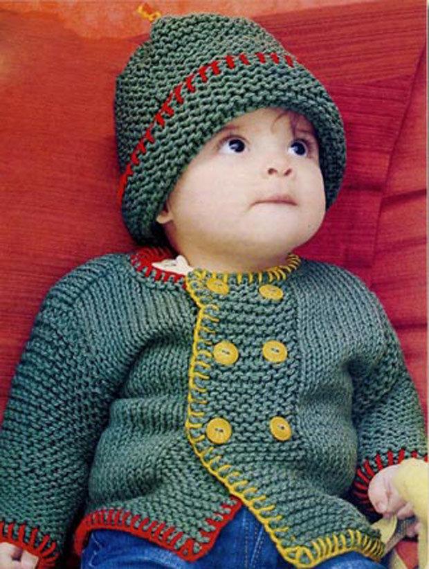 Детское вязание для детей до 1 года
