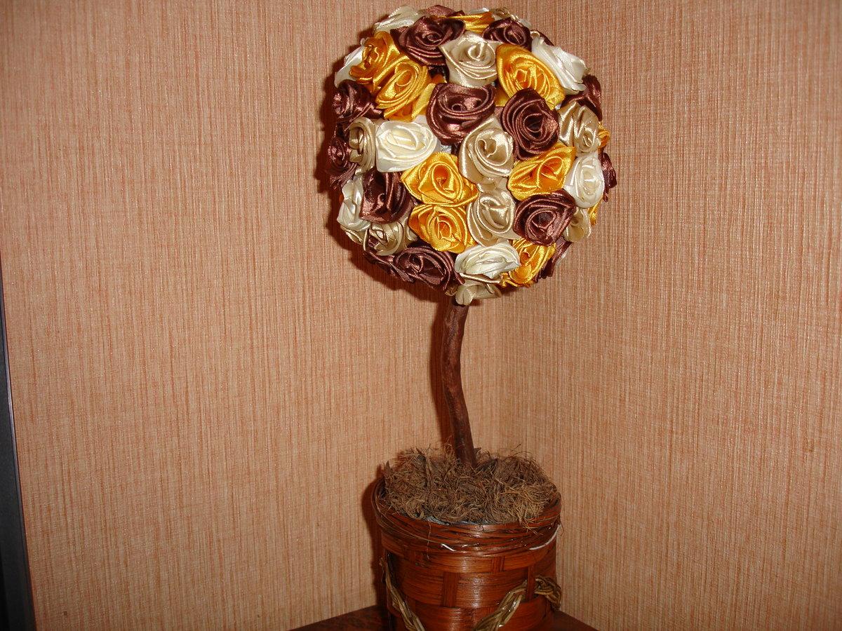Дерево счастья своими руками из подручных материалов