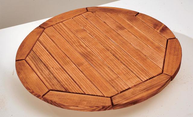 Изготовление круглого стола из дерева своими руками 62