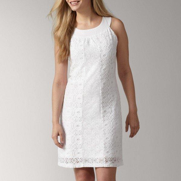 Белое летнее платье своими руками 34