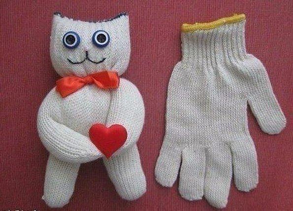 Детские поделки своими руками из носок
