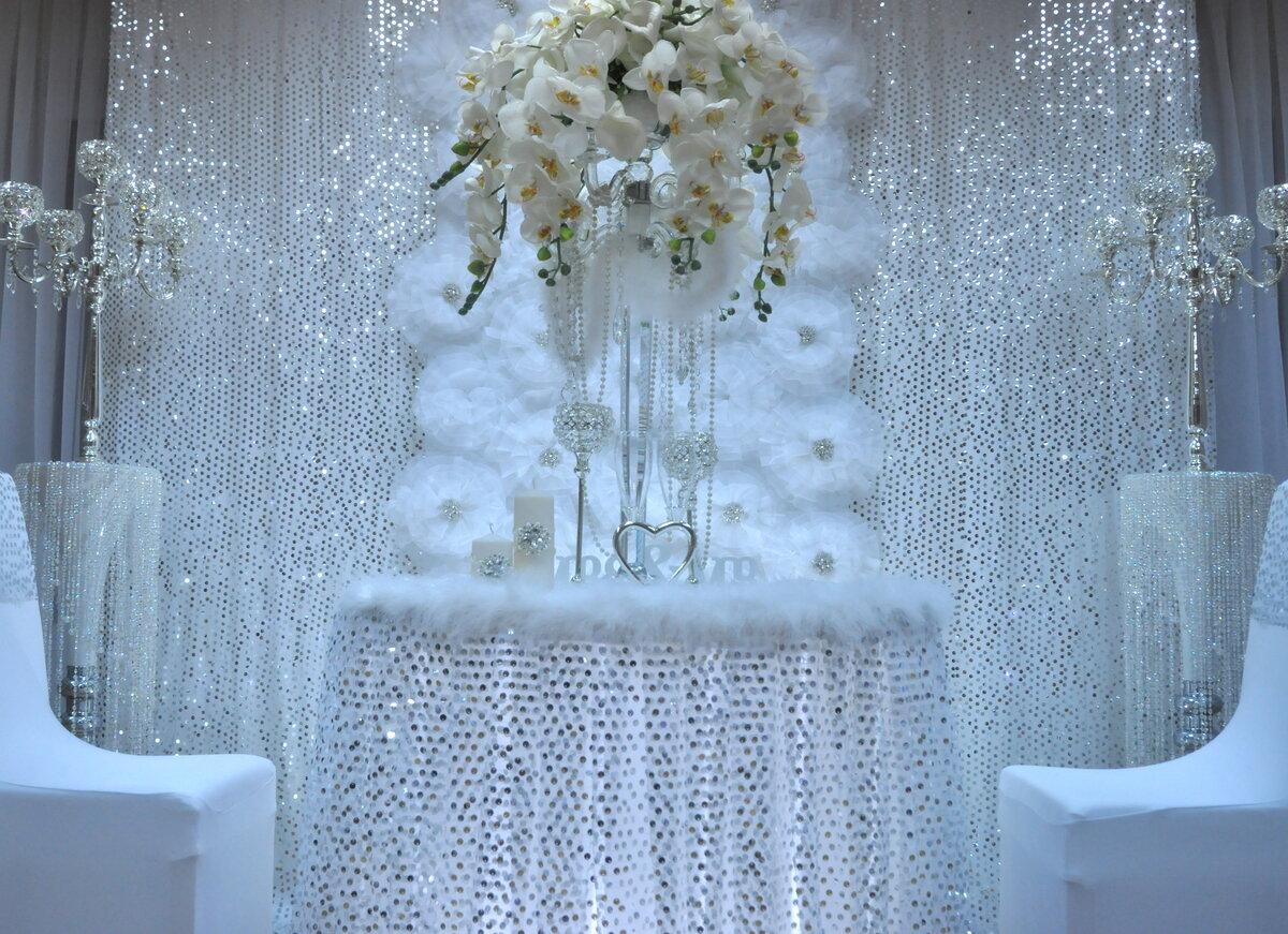 Фото свадьбы в зимнем стиле