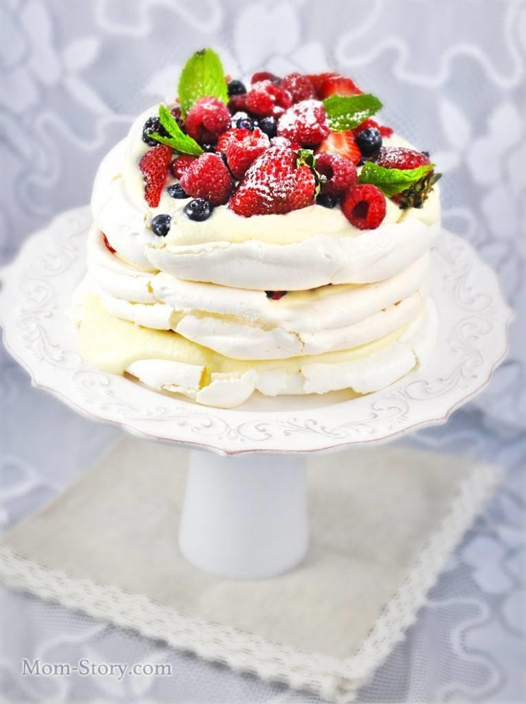 Торт анна павлова классический