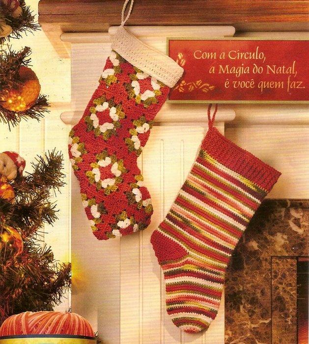 Носки для подарков связать 95