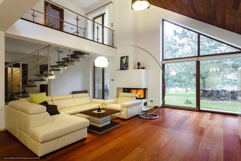Интерьер красивых домов фото