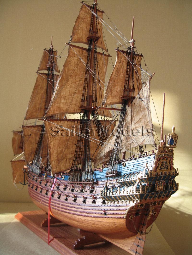 Как самому построить корабль из дерева