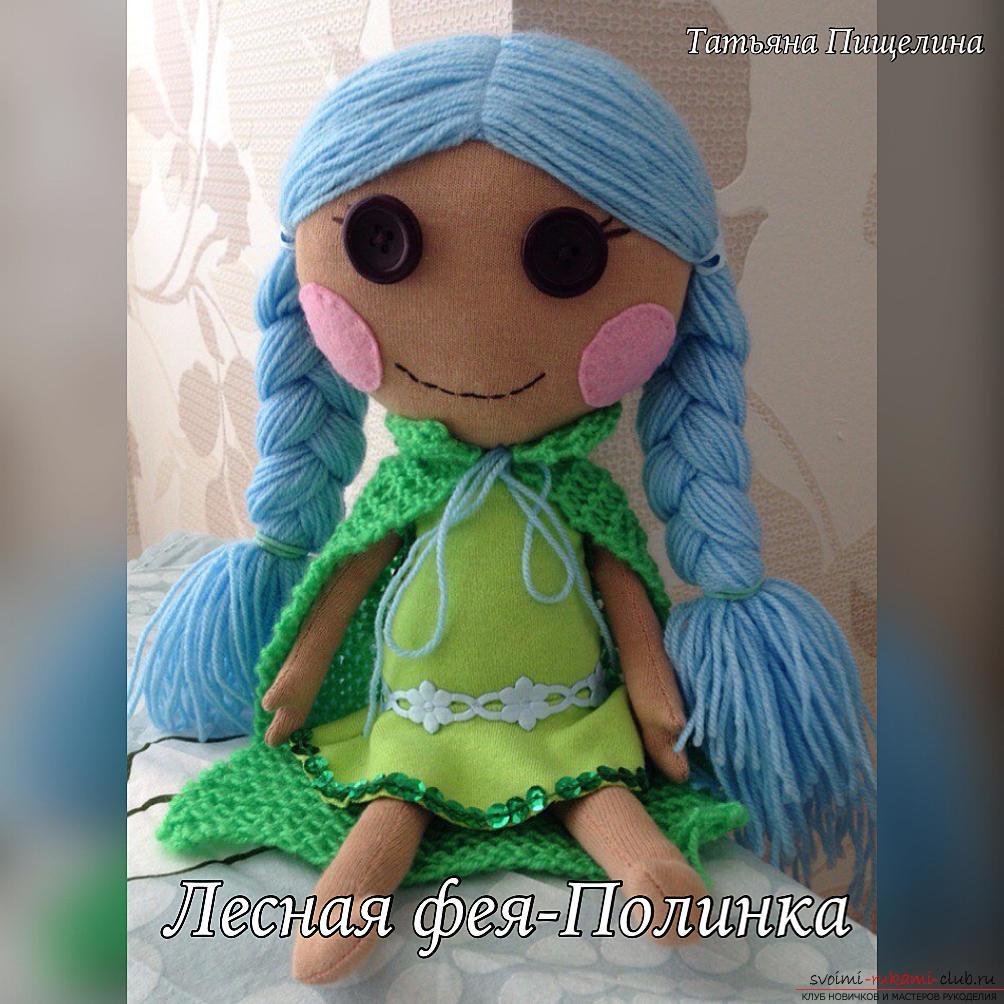 Игровые текстильные куклы для детей своими руками 49