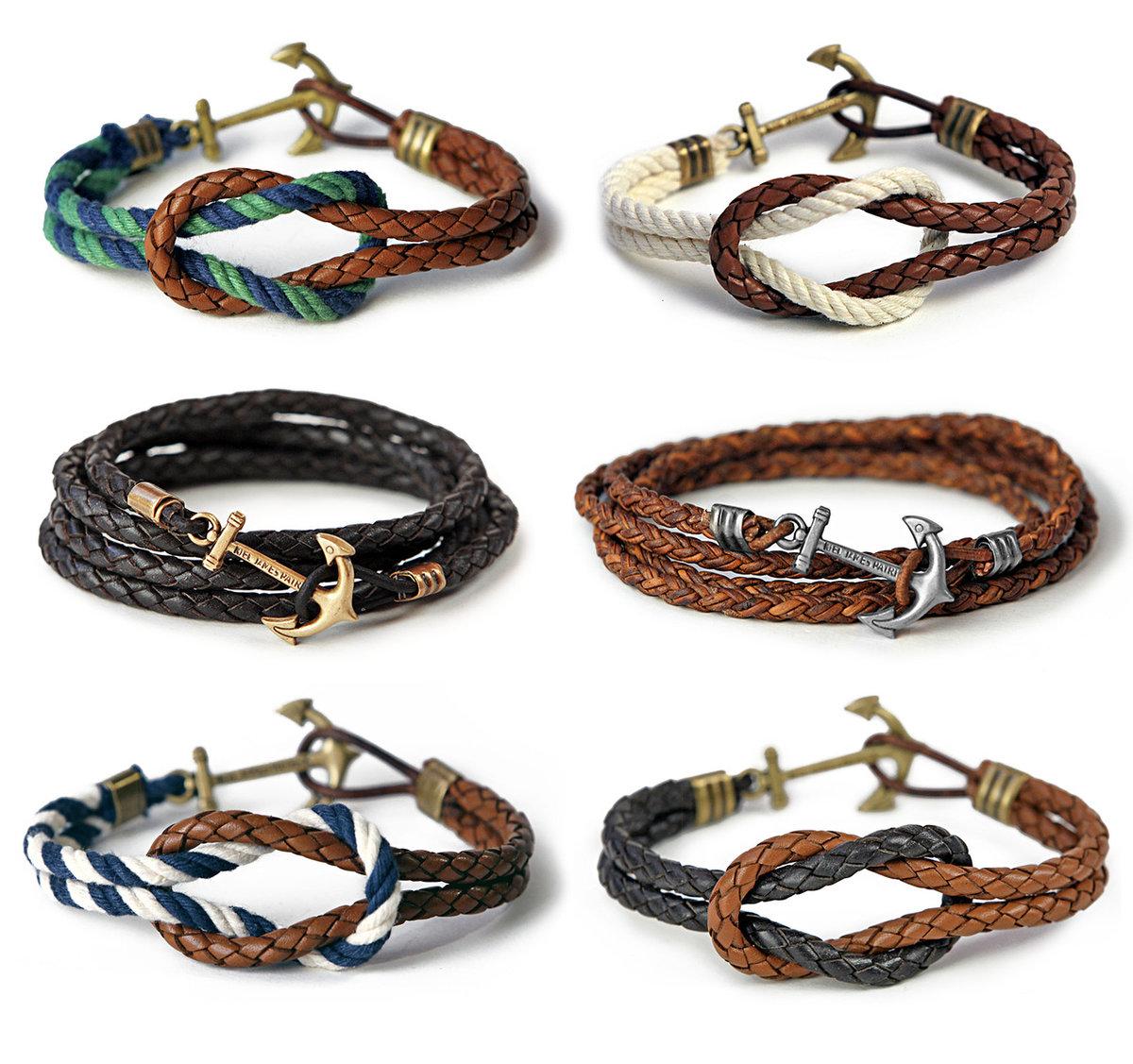 Плетение браслетов для мужчин своими руками