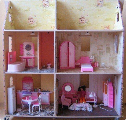 Как сделать  дом куклы барби