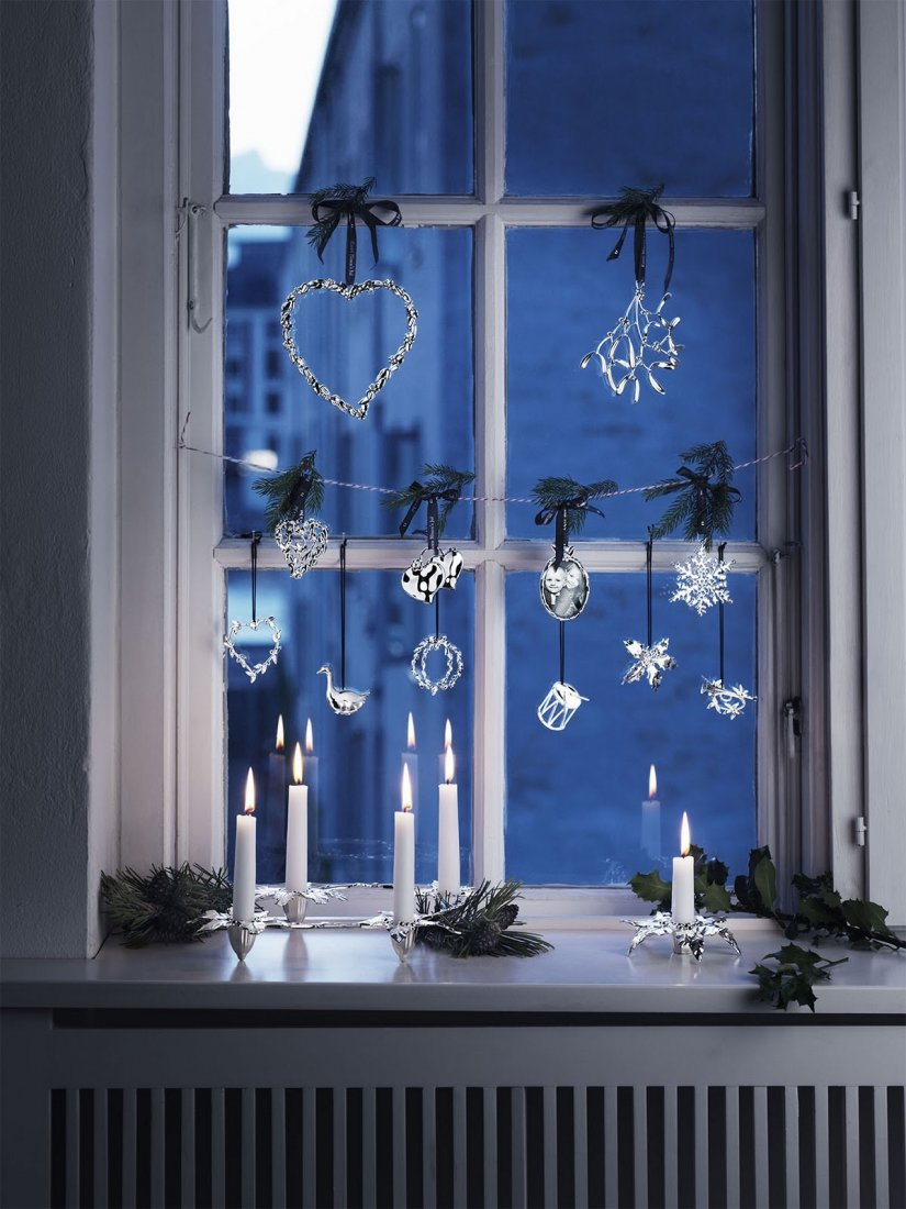 Украшаем дом к Новому году своими