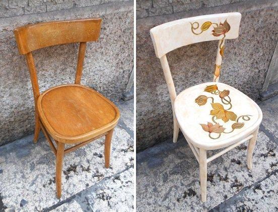 Реставрация деревянного стула стульев своими руками 971