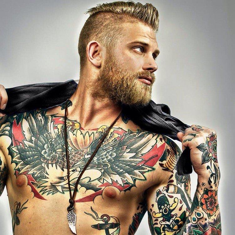 Модные татуировки мужские