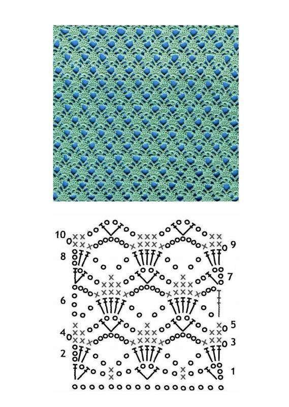 Вязание крючком полотна 94