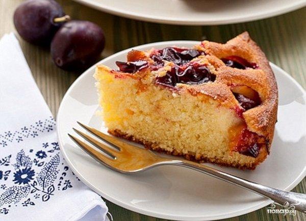 Пироги со сливами в мультиварке рецепты с