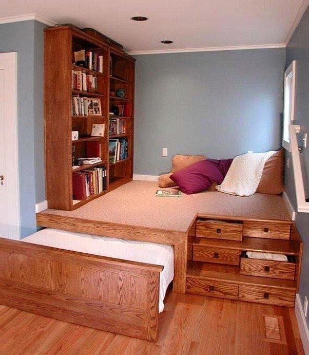 Дизайн комнат экономия места