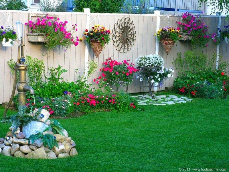 Идеи интересные для сада фото