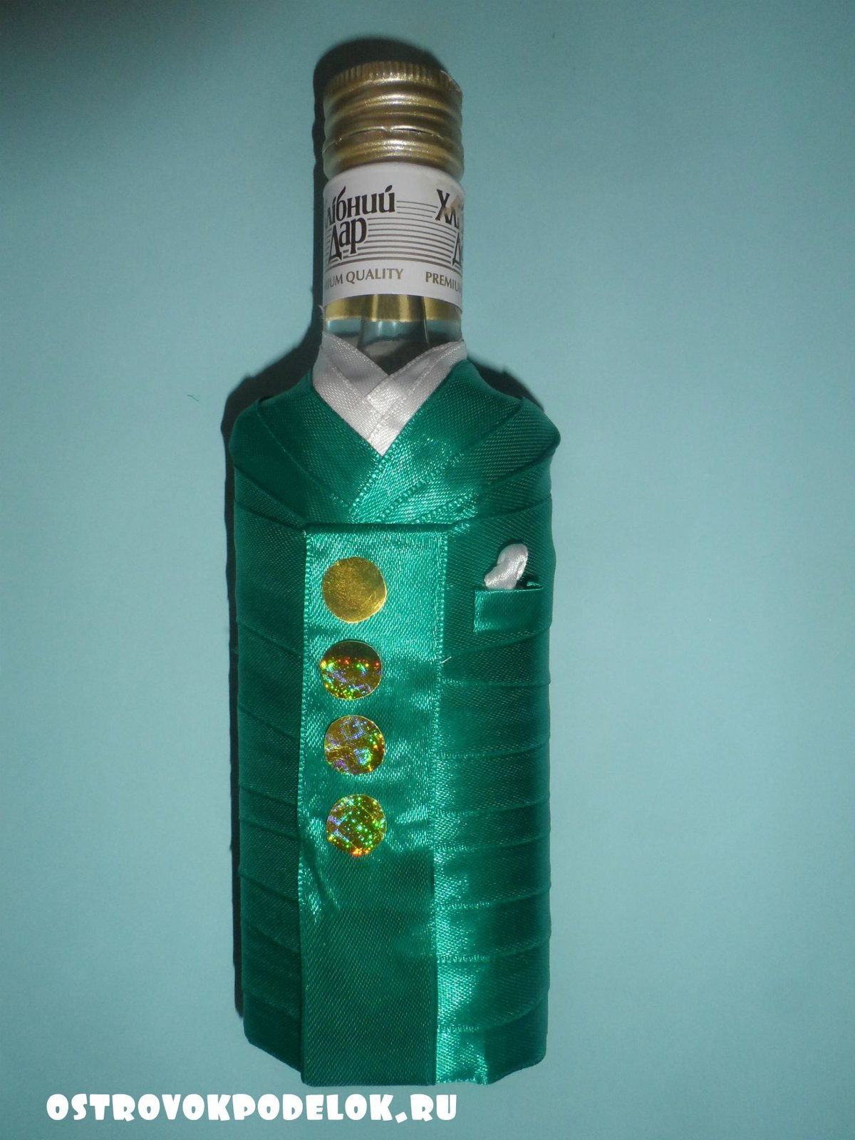 Поделки из бутылок ленточек