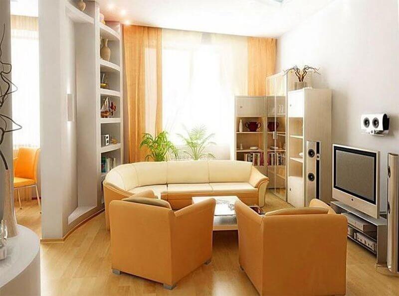 Дизайн хрущевки 1 комната фото 5