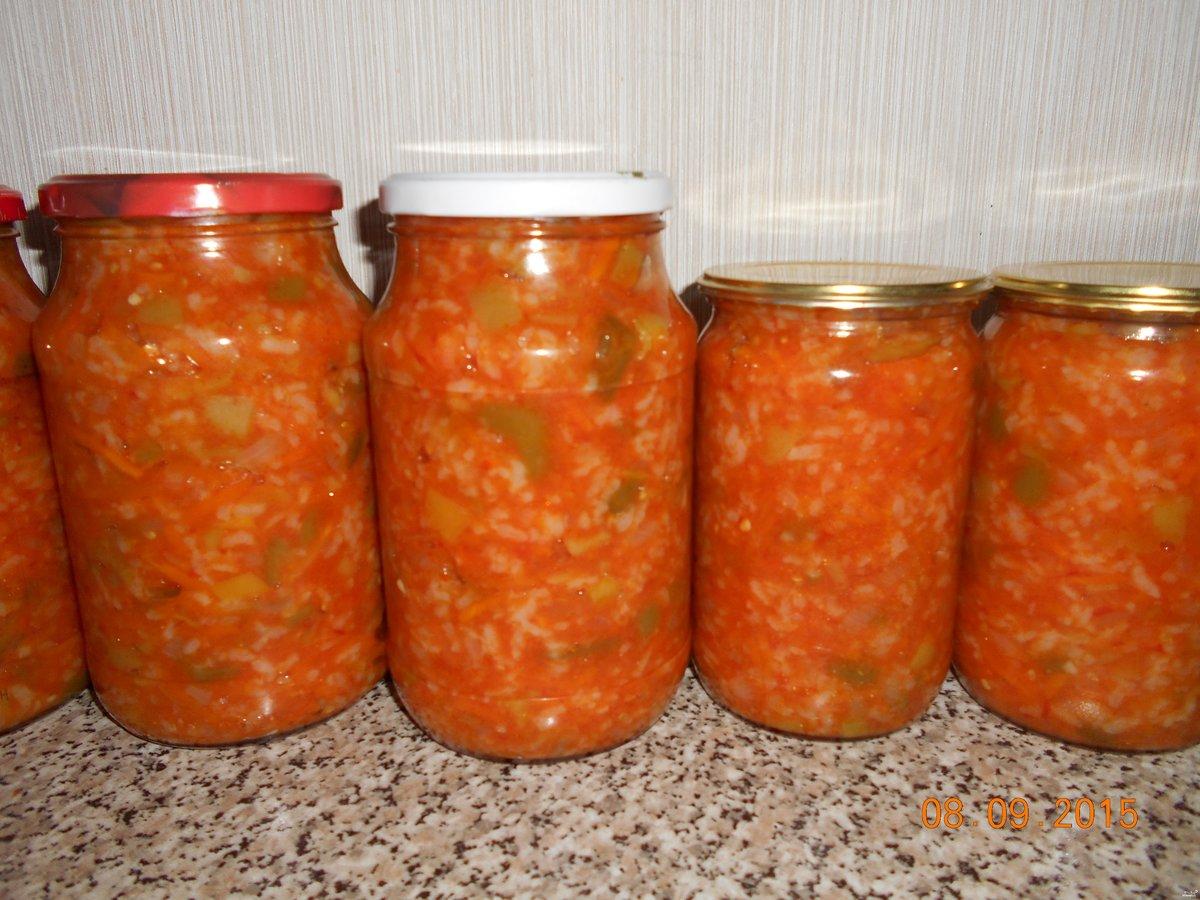 Салат з гречкою на зиму рецепты
