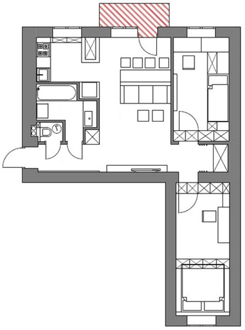 Дизайн фото хрущевок трехкомнатных квартир в