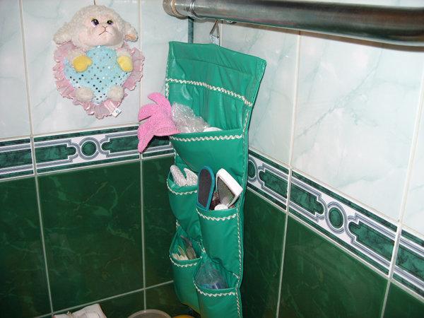 Органайзер своими руками в ванную комнату в 465