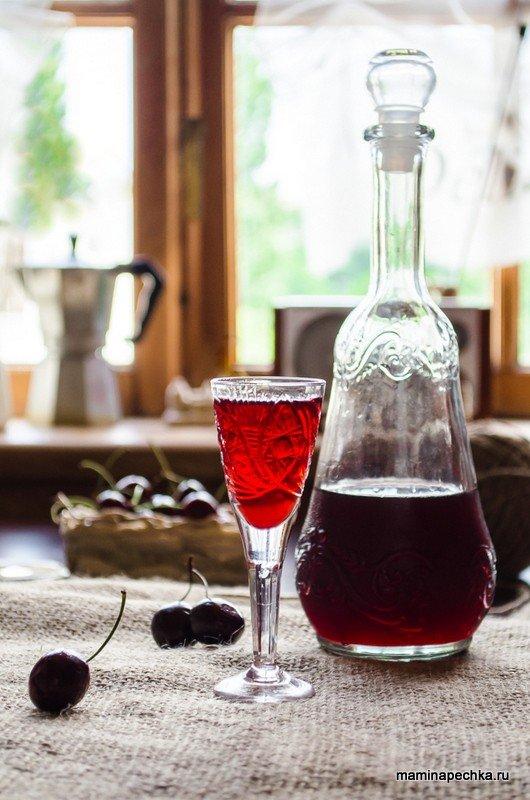 Рецепты настойка из вишни на водке в домашних условиях