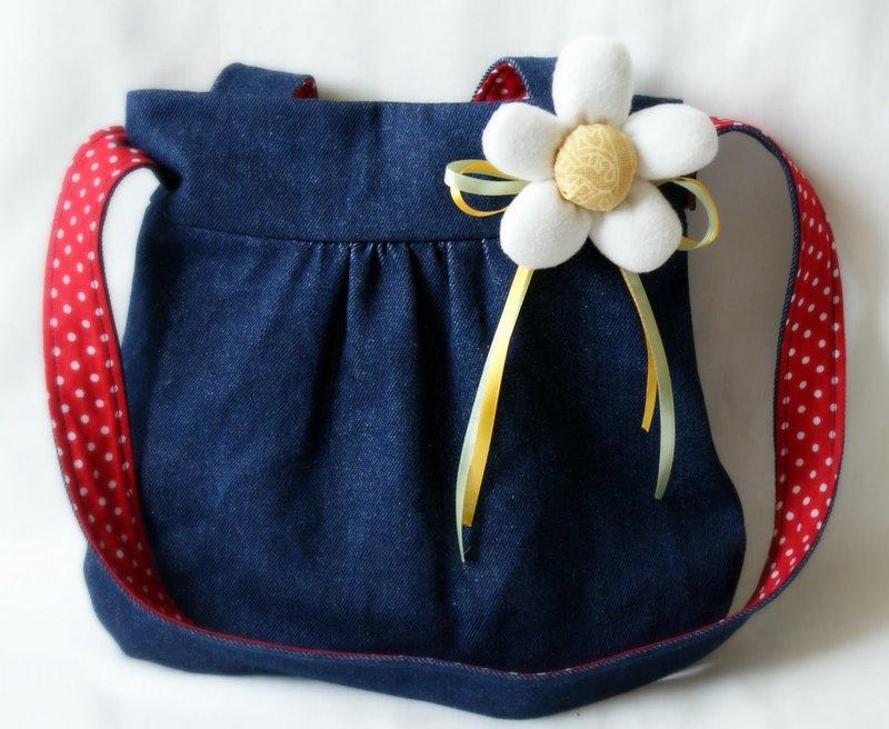 Детские сумки из джинс своими руками