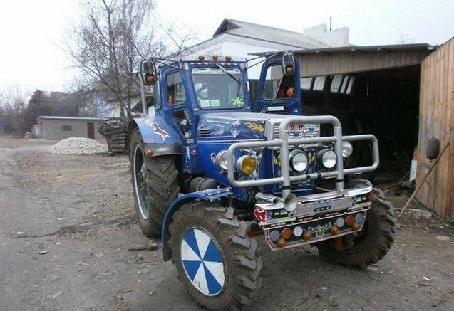 Тюнинг своими руками на трактор 147