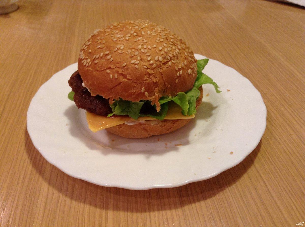 Как сделать гамбургеры самостоятельно