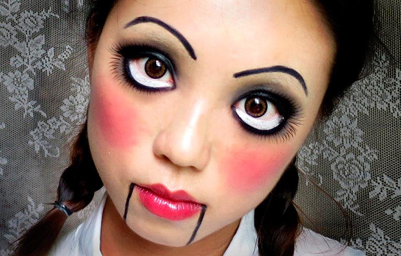 Как сделать макияж на хэллоуин для девочек