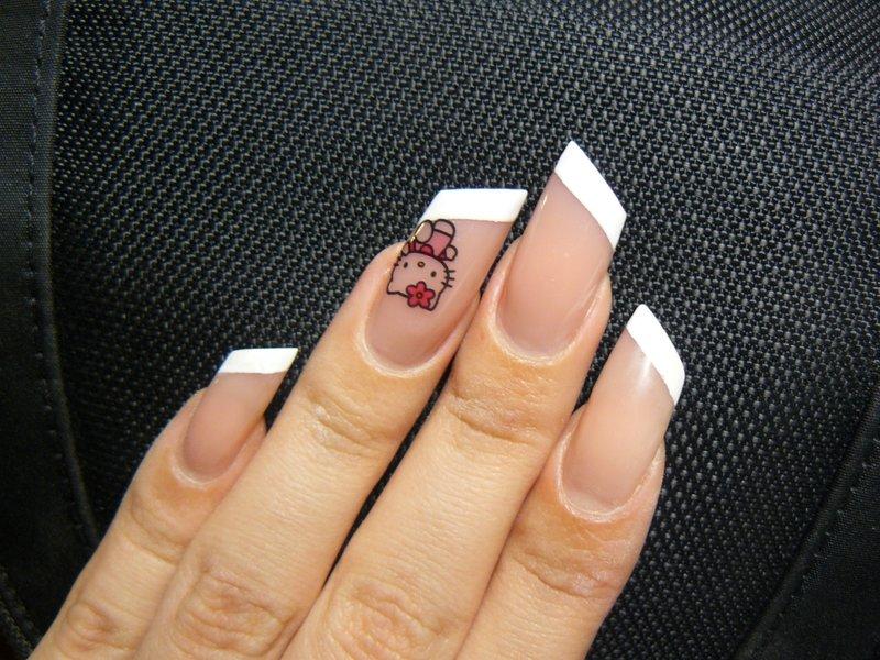 Дизайн ногтей на круглую форму ногтей фото