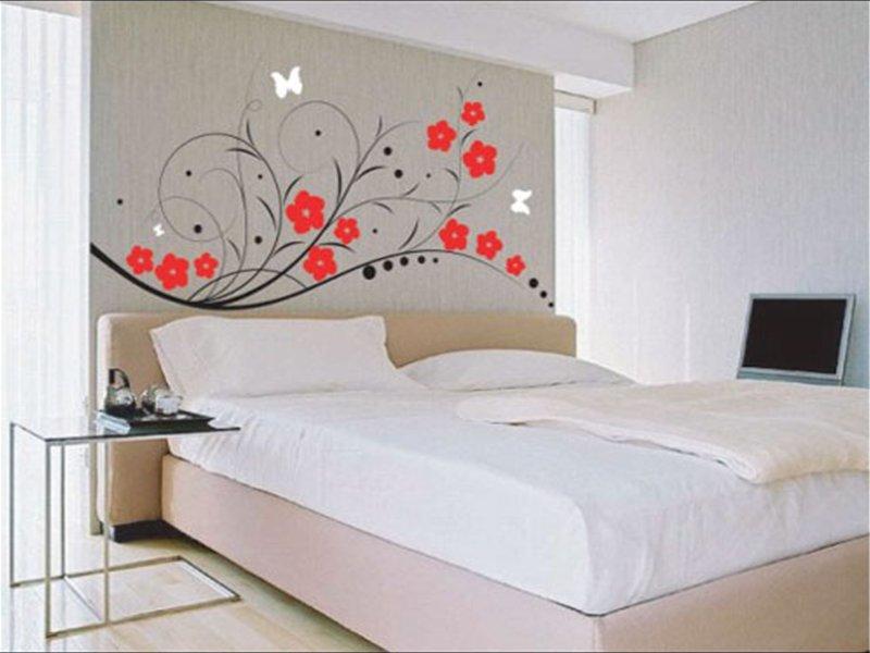 Рисунки на стене дизайн