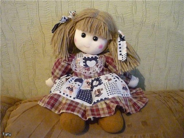 Тряпочные кукла своими руками