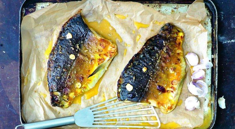 Пошаговый запекания рыбы в духовке
