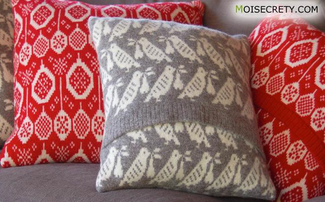 Как сделать диванные подушки