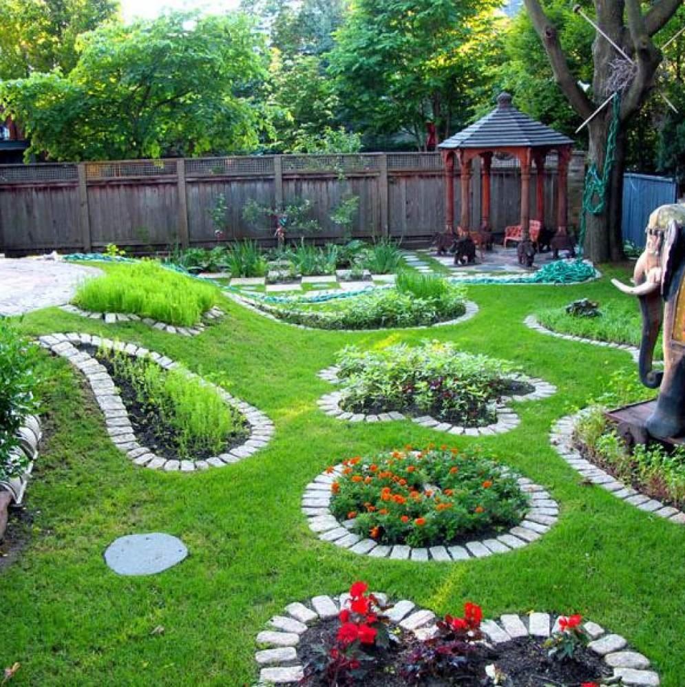 Обустройство садовых участков своими руками фото 214