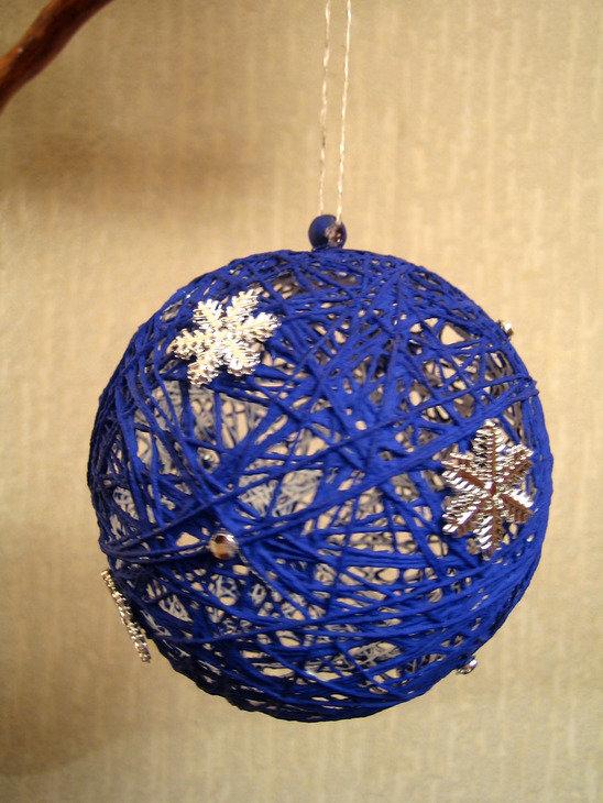 Сделать новогоднего шарика