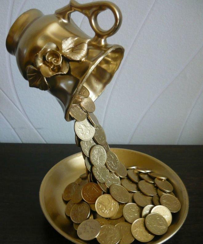 Золотые монеты своими руками 23