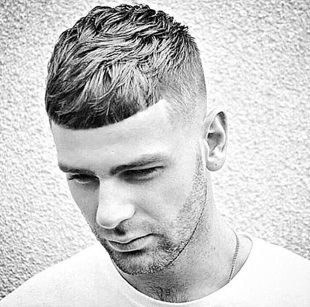 Стрижки на короткие волосы 2017 мужские