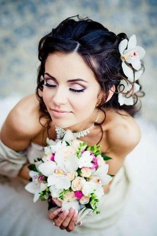 Макияж и прическа на свадьбу пермь