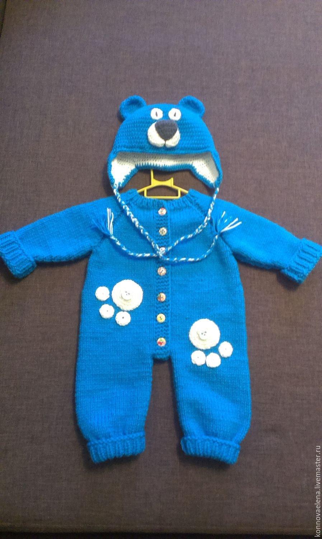 Ютуб комбинезоны детские вязание спицами