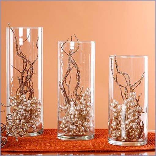 Декор в вазы